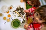 La passione per il tè inizia sin da piccoli, Sala da Tè Momenti di Tè